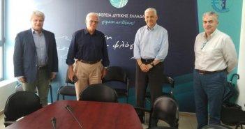 Συνάντηση του Αντιπεριφερειάρχη Φωκίωνα Ζαΐμη με τον Πρόεδρο του Ελληνικού Ανοικτού Πανεπιστημίου Οδυσσέα – ΙωάννηΖώρα