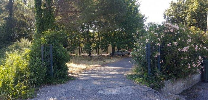 Άγνωστοι έκλεψαν την μεταλλική πόρτα του Γυμνασίου Καλυβίων (ΔΕΙΤΕ ΦΩΤΟ)