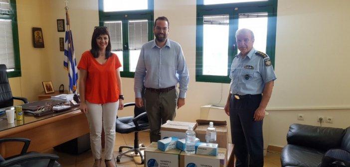 Διανομή υγειονομικού υλικού από την Περιφέρεια Δυτικής Ελλάδας σε φορείς του Αγρινίου