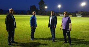 Δοκίμι: Αναβάθμιση του ηλεκτροφωτισμού – Άναψαν τα φώτα στο γήπεδο (ΔΕΙΤΕ ΦΩΤΟ)