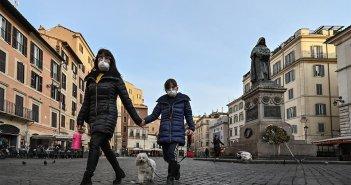 Κορωνοϊός στην Ιταλία: Λιγότεροι νεκροί το τελευταίο 24ωρο