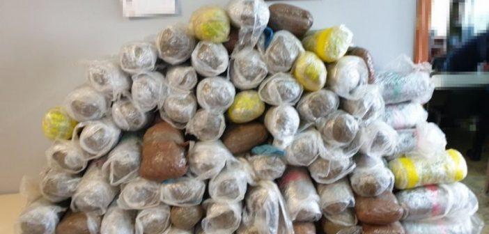 Ιωάννινα: Μετέφερε 93 κιλά κάνναβης με νοικιασμένο αυτοκίνητο