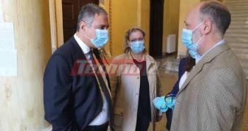Πάτρα: Στον εισαγγελέα με τον φάκελο της προμήθειας υγειονομικού υλικού ο Διοικητής της 6ης ΥΠΕ – Δηλώσεις Καρβέλη, Λεπίδα (ΦΩΤΟ – VIDEO)