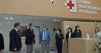 """Διοικητής 6ης ΥΠΕ: """"Η Λευκάδα είναι σε πλήρη υγειονομική ασφάλεια"""" (ΔΕΙΤΕ ΦΩΤΟ)"""