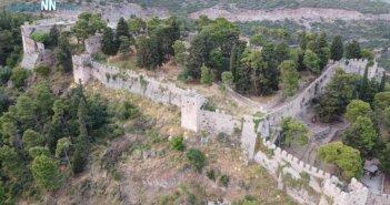 Το κάστρο της Ναυπάκτου μετά τις εργασίες για την ανάδειξη του (VIDEO)