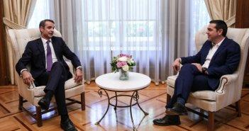 Βράδυ Δευτέρας: Μητσοτάκης vs Τσίπρας