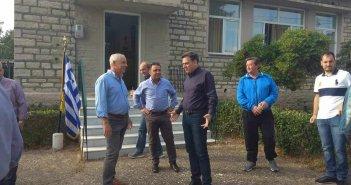 Συνάντηση Θάνου Μωραΐτη με μέλη του Συλλόγου ελαιοπαραγωγών Αιτωλικού