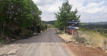 Ασφαλτοστρώθηκε ο δρόμος από την έξοδο της Μπαμπίνης προς τον Αετό