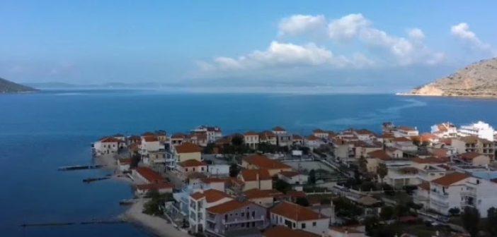 Πανέμορφα πλάνα του Μύτικα από ψηλά (video)