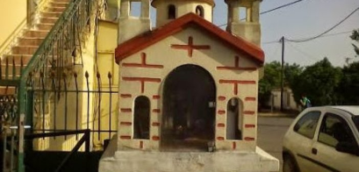 Καινούργιο: Το ιστορικό εικόνισμα-προσκυνητάρι στο σημείο που ξεκουράστηκε ο Κοσμάς ο Αιτωλός