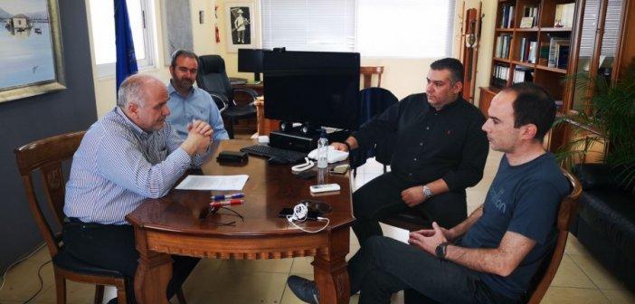 Συνάντηση εργασίας Δήμου Μεσολογγίου και Περιφέρειας Δυτικής Ελλάδας
