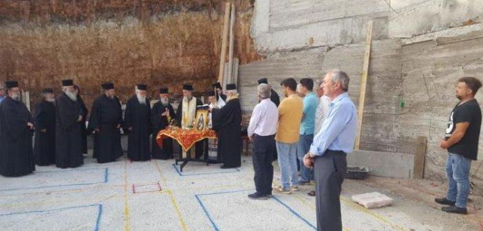 Θέρμο: Θεμέλιος λίθος για την ανέγερση Ιερού Ναού Αγίου Παϊσίου