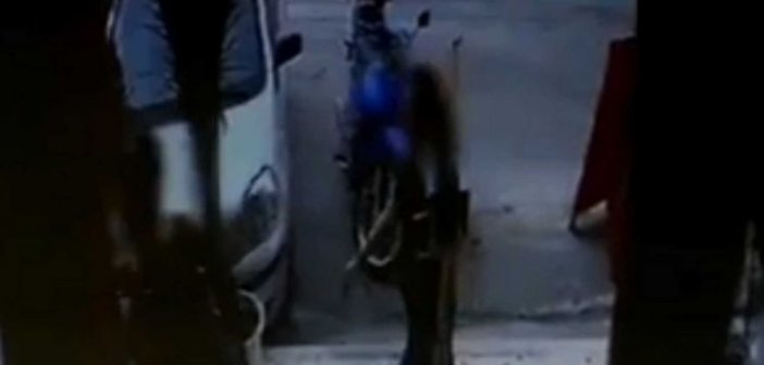 Βιτριόλι: Στα χέρια της αστυνομίας το όχημα της μαυροντυμένης