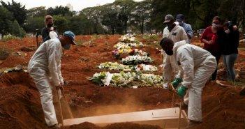 Ξεπέρασε και τις ΗΠΑ η Βραζιλία! Πάνω από 800 νεκροί σε μια μέρα