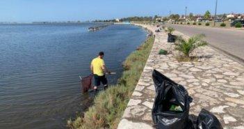 Μεσολόγγι: Εθελοντικός καθαρισμός στην ανατολική Κλείσοβα (ΔΕΙΤΕ ΦΩΤΟ)