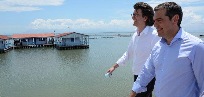 Όμως τα έργα στη Λιμνοθάλασσα ακόμη περιμένουν…