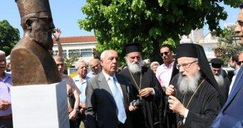 Τρία χρόνια από τα αποκαλυπτήρια της προτομής του Ιερέα Κωνσταντίνου Κακαβούλα στην Αγία Τριάδα Αγρινίου (ΦΩΤΟ)