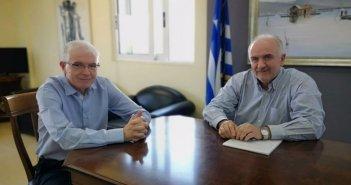 Συνάντηση του Δημάρχου Μεσολογγίου με τον Πρόεδρο του ΕΛΓΑ (ΦΩΤΟ + VIDEO)