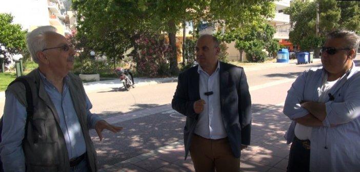 Ναύπακτος: Αγωνία για τα πλατάνια – Επίσκεψη – αυτοψία του καθηγητή Τσόπελα – Το μεταχρωματικό έλκος απειλεί τον πλούτο της περιοχής (VIDEO + ΦΩΤΟ)