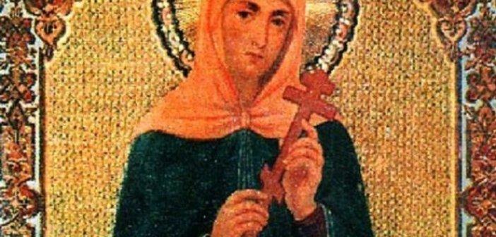 Σήμερα τιμάται η Αγία Αγριππίνα