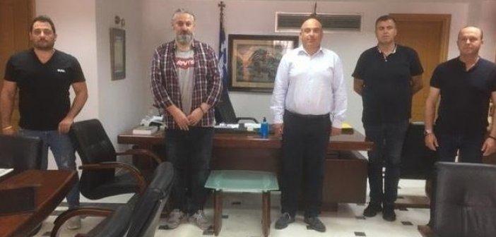Με την Ένωση Αστυνομικών Υπαλλήλων Αιτωλίας συναντήθηκε ο Δήμαρχος Ναυπακτίας