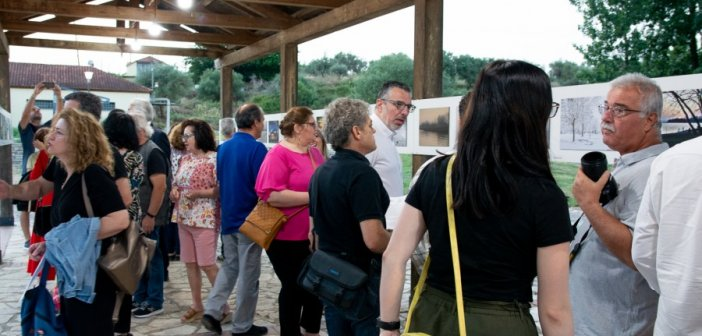 """Το """"Δίκτυο Ενεργών Πολιτών"""" για την Έκθεσης Φωτογραφίας """"Μια λίμνη θάλασσα- μια λιμνοθάλασσα"""" (ΦΩΤΟ)"""