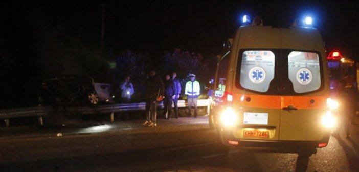 Αγρίνιο: Στο Νοσοκομείο πέντε άτομα από καραμπόλα στην Εθνική Οδό