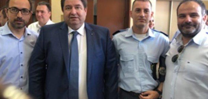 Συνάντηση Προεδρείου της Ένωσης Αστυνομικών Υπαλλήλων Ακαρνανίας με την φυσική και πολιτική ηγεσία στην Πάτρα (ΦΩΤΟ)