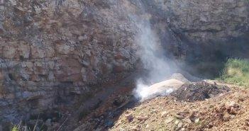 Αμφιλοχία: Πάλι φωτιά στη θέση Παλιαυλή (ΔΕΙΤΕ ΦΩΤΟ)