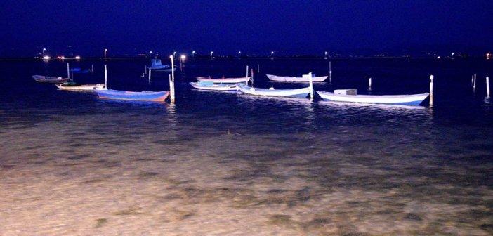 Οι γαϊτες στο Μεσολόγγι την νύχτα (ΔΕΙΤΕ ΦΩΤΟ)