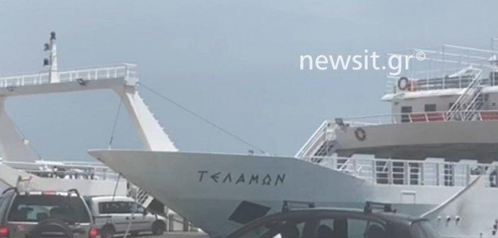 Μία «παντόφλα» συνδέει την Αιτωλοακαρνανία με την Λευκάδα! (ΦΩΤΟ + VIDEO)