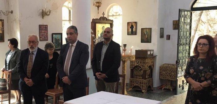 Συγκίνηση στην επαναλειτουργία στο εκκλησάκι του Νοσοκομείου Νοσημάτων Θώρακος