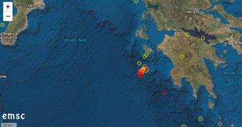 Νέος σεισμός τα ξημερώματα κοντά στη Ζάκυνθο