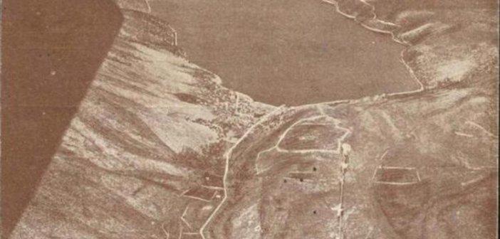 Σπάνια αεροφωτογραφία της Αμφιλοχίας του 1940