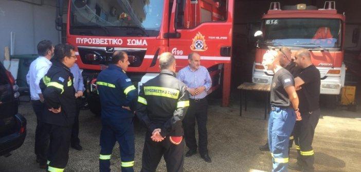 Στην Πυροσβεστική Υπηρεσία η παράταξη Κατσιφάρα (ΦΩΤΟ)