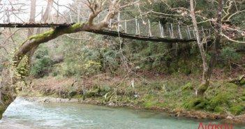 Κρεμαστές-συρμάτινες γέφυρες στο Χαλκιόπουλο Ορεινού Βάλτου (ΔΕΙΤΕ ΦΩΤΟ)