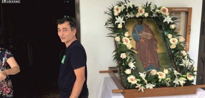 Το Μενίδι Αμφιλοχίας γιόρτασε τον πολιούχο του, Απόστολο Παύλο (VIDEO)