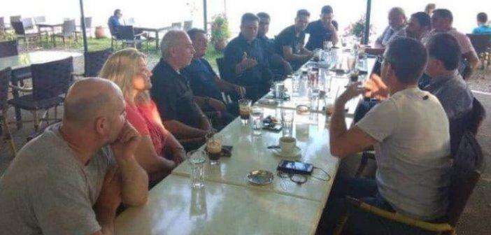 Συνάντηση Θ. Μωραΐτη με εκπροσώπους των μελισσοκόμων της Αιτωλοακαρνανίας (ΔΕΙΤΕ ΦΩΤΟ)