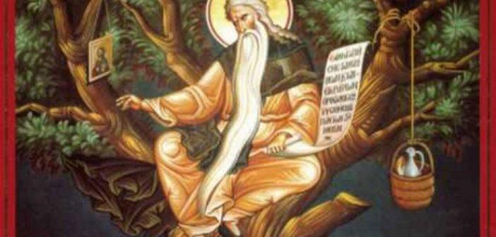 Σήμερα τιμάται ο Όσιος Δαβίδ από τη Θεσσαλονίκη