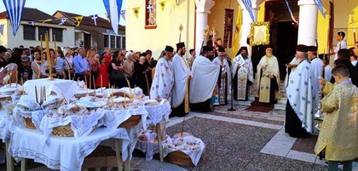 Με λαμπρότητα ο εορτασμός του Αποστόλου Παύλου στη Μεγάλη Χώρα Αγρινίου (ΦΩΤΟ)