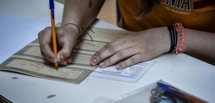 Πανελλαδικές: Ξεκινά τη Δευτέρα η δοκιμασία για 6.238 υποψηφίους από τη Δυτ. Ελλάδα – Πρωτόγνωρη διαδικασία με μάσκες λόγω κορονοϊού