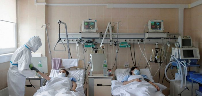 Ρωσία: 119 νεκροί και 8.835 νέα κρούσματα σε 24 ώρες