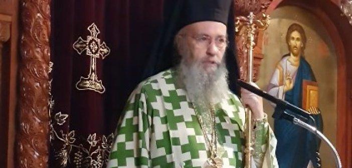 Το κήρυγμα του κ.Ιεροθέου στην Ι.Μ. Τιμίου Προδρόμου στη Βομβοκού Ναυπακτίας