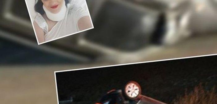 """Α. Χαλιμούδρα – περιφερειακή σύμβουλος Αιτωλοακαρνανίας: """"Η ζώνη μου έσωσε τη ζωή"""" λέει μετά τον τραυματισμό της σε τροχαίο (ΦΩΤΟ)"""