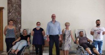 Αγρίνιο: Συμμετοχή του Οικονομικού Επιμελητηρίου στην Ημέρα Εθελοντισμού (ΦΩΤΟ)