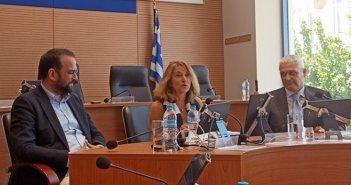 Στην Περιφέρεια Δυτικής Ελλάδας η Γενική Γραμματέας της CPMR Ελένη Μαριάνου (ΦΩΤΟ)