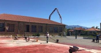 2ο Δημοτικό Παναιτωλίου: Ξεκίνησαν οι εργασίες ανάπλασης του προαυλίου χώρου (ΔΕΙΤΕ ΦΩΤΟ)