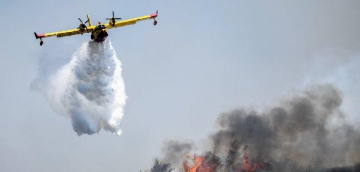 Μαίνεται η φωτιά στις Κεχριές Κορινθίας – Εκκενώνεται κατασκήνωση και ο οικισμός Δράσσα