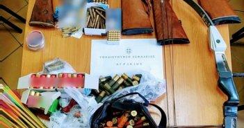 Ολόκληρο οπλοστάσιο βρέθηκε στο σπίτι του άνδρα που συνελήφθη στο Καινούργιο! (ΔΕΙΤΕ ΦΩΤΟ)