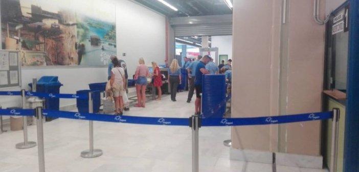 Τρεις νέες συλλήψεις αλλοδαπών στο αεροδρόμιο του Ακτίου